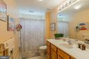 Full bath on Loft Level - 3944 SOLSTICE LN, DUMFRIES