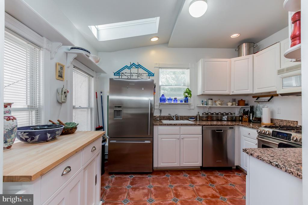 Kitchen in expanded addition - 2108 O ST NW, WASHINGTON
