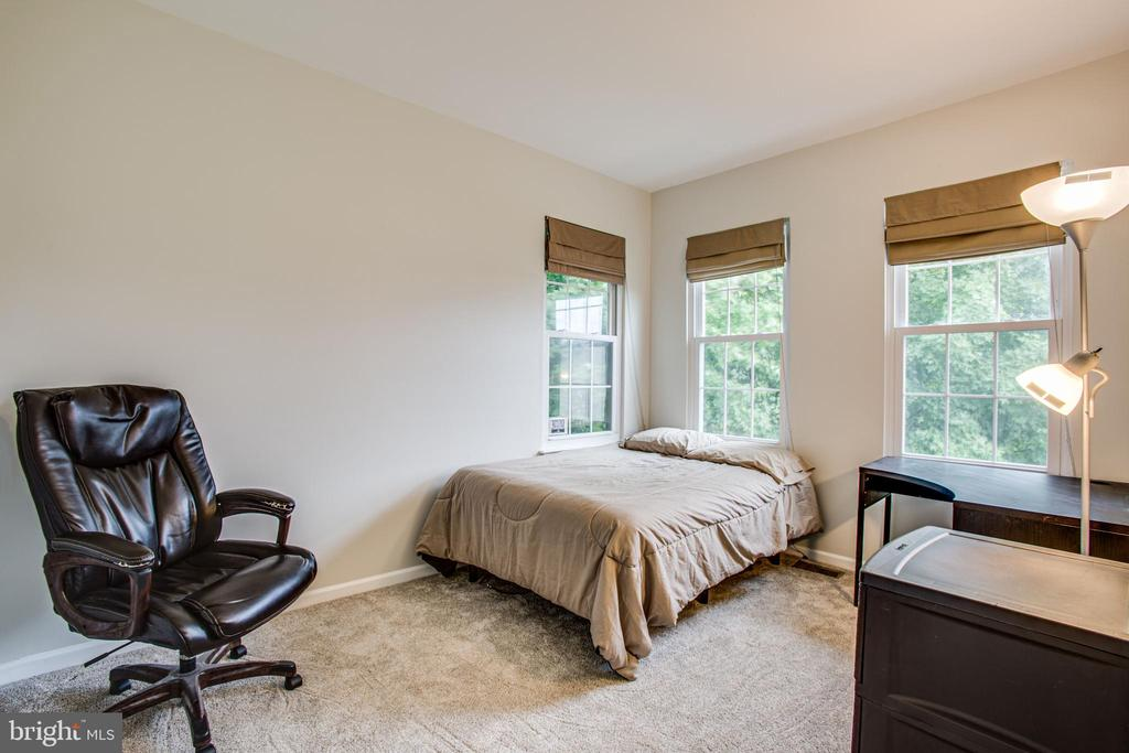2nd bedroom w large walk-in closet and 3 windows - 8539 BERTSKY LN, LORTON