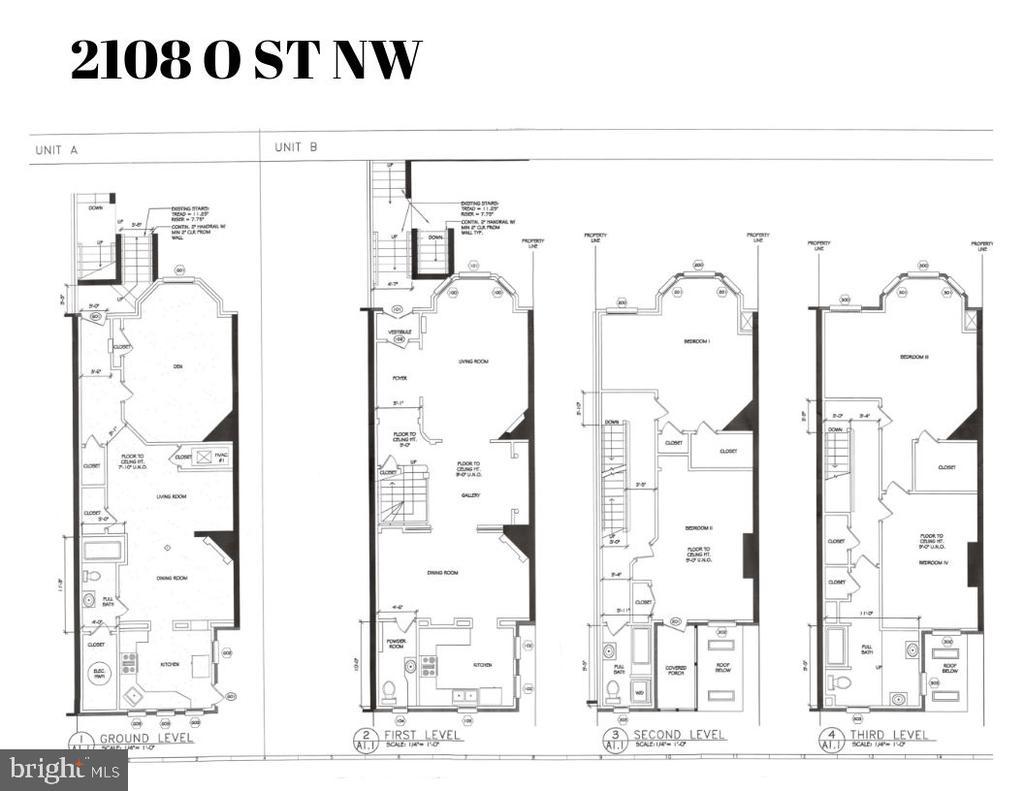Floor plan - 2108 O ST NW, WASHINGTON