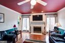 Cozy fireplace for the colder months - 43131 WEATHERWOOD DR, ASHBURN