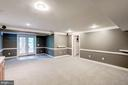 Huge basement rec room. - 43131 WEATHERWOOD DR, ASHBURN