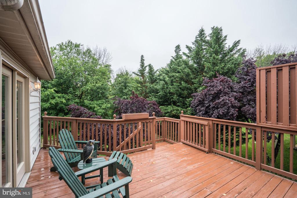 Great views from the deck - 43131 WEATHERWOOD DR, ASHBURN
