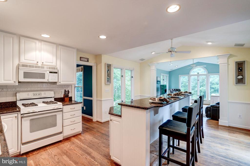 Hardwood here too! - 43131 WEATHERWOOD DR, ASHBURN
