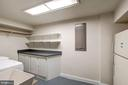 Large laundry room - 43131 WEATHERWOOD DR, ASHBURN