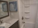 Lower Level full bath - 17 S PENDLETON CT, FREDERICK