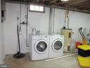 Lower Level Washer Dryer and storage - 17 S PENDLETON CT, FREDERICK