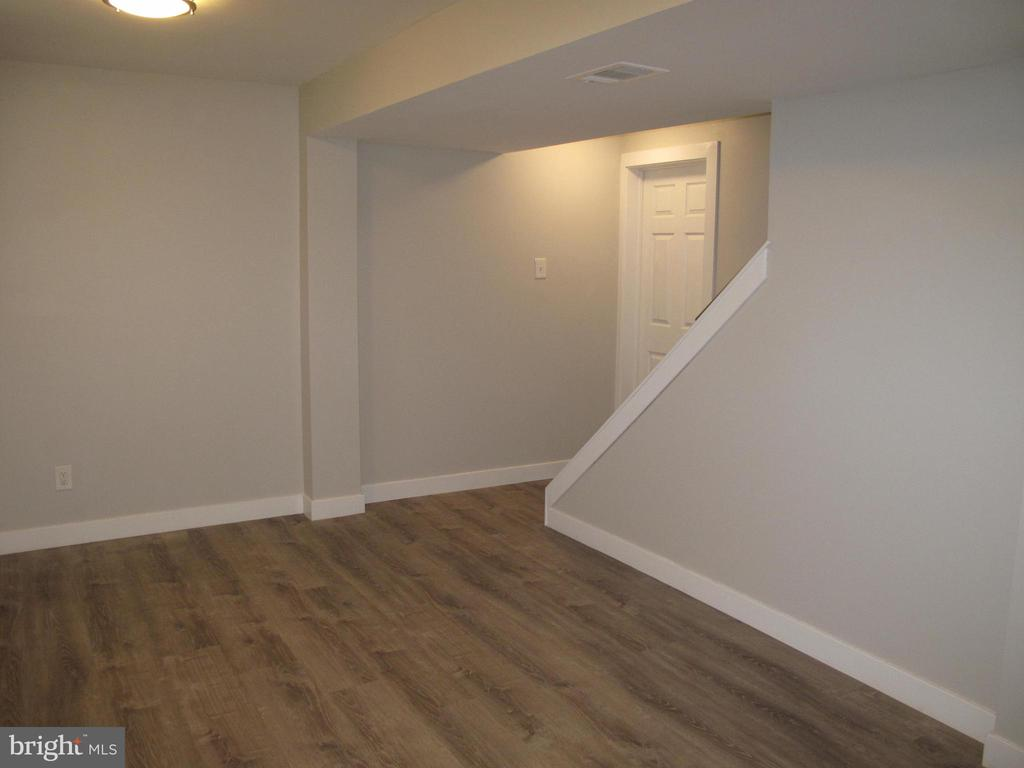 Finished lower level with upgraded floor. - 17 S PENDLETON CT, FREDERICK