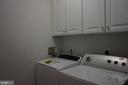 Full size washer and dryer - 11750 OLD GEORGETOWN RD #2135, ROCKVILLE