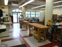 Community woodworking shop - 19355 CYPRESS RIDGE TER #823, LEESBURG