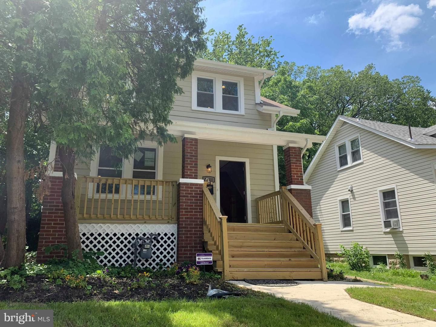 Single Family for Sale at 4220 31st St Mount Rainier, Maryland 20712 United States