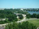 PANORAMIC DC & MONUMENTS VIEWS FROM PICTURE WINDOW - 1021 ARLINGTON BLVD #1142, ARLINGTON