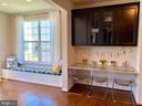 Custom Built-Ins in Kitchen/Morning room - 9009 BELO GATE DR, MANASSAS PARK