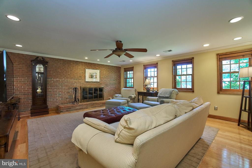 LL family room offers added space and light - 8502 TYSONS CT, VIENNA