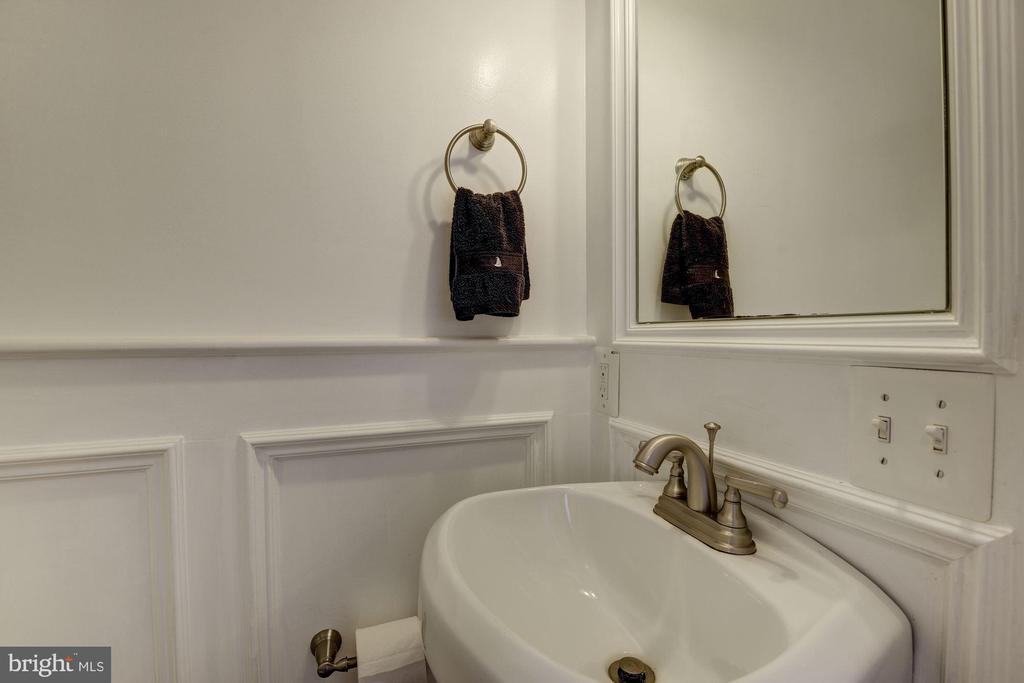 First Floor Powder Room - 4236 14TH ST NE, WASHINGTON