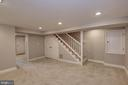 Finished Basement - 4236 14TH ST NE, WASHINGTON
