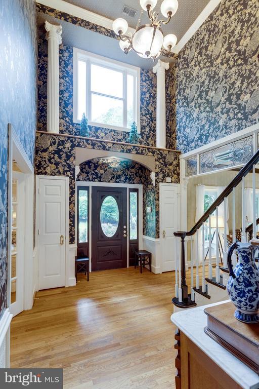Wide, Welcoming Foyer - 11256 WAPLES MILL RD, OAKTON