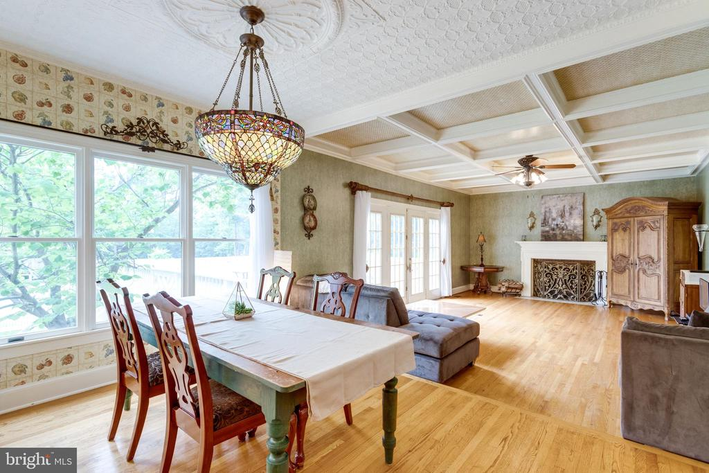Breakfast Room overlooks rear Patio. - 11256 WAPLES MILL RD, OAKTON