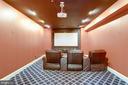 Theater Room. Media equipment conveys. - 11256 WAPLES MILL RD, OAKTON