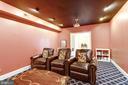 Theater Room. - 11256 WAPLES MILL RD, OAKTON