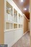 Built-in Display Cabinet w/storage in Lower Level. - 11256 WAPLES MILL RD, OAKTON