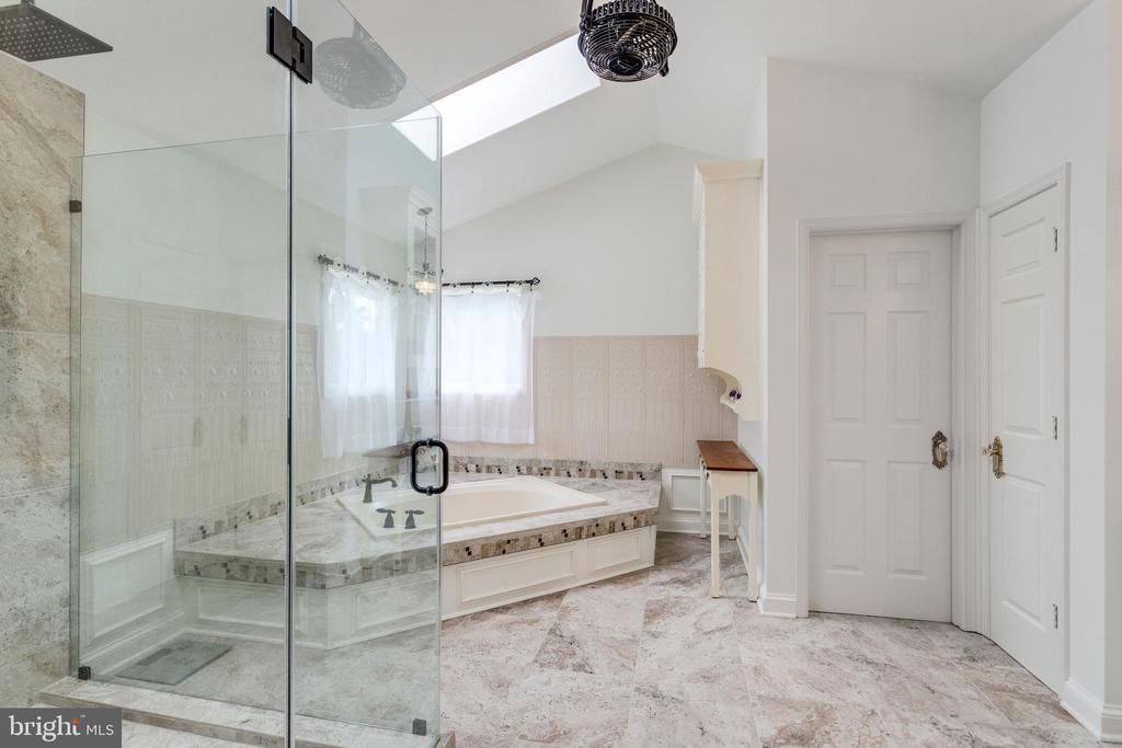 Recently updated Master Bath. - 11256 WAPLES MILL RD, OAKTON