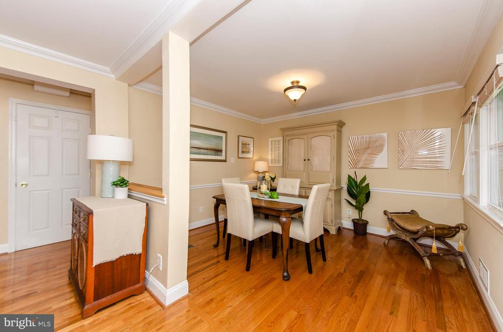 Dining Room - 6419 28TH ST N, ARLINGTON