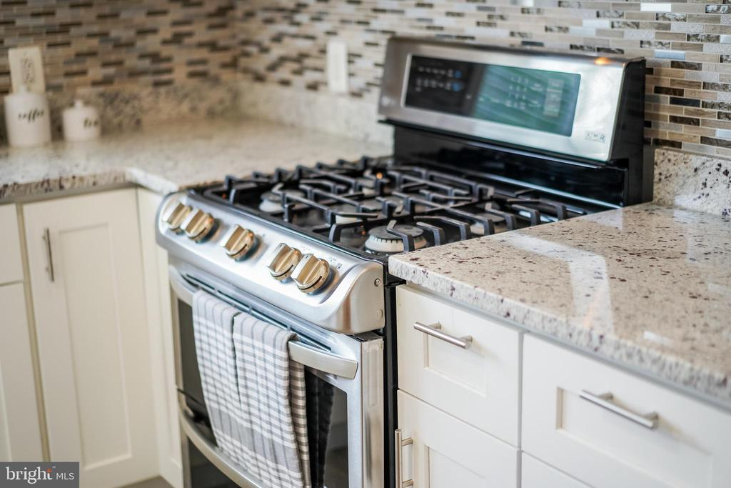 Kitchen oven, granite counters - 4722 8TH ST NW, WASHINGTON