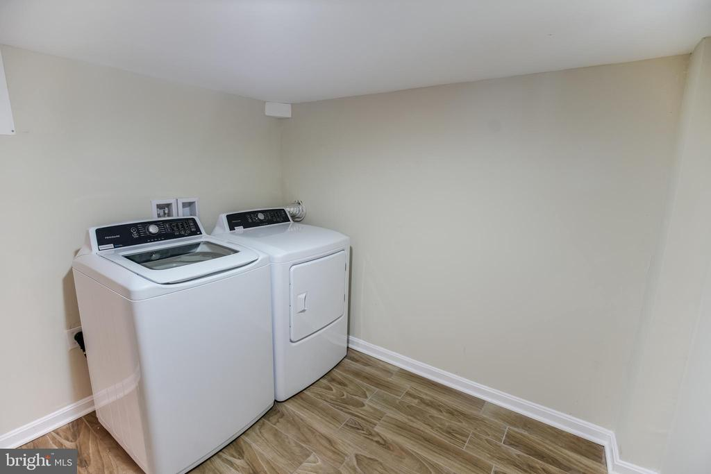 Laundry area, washer and dryer - 4722 8TH ST NW, WASHINGTON