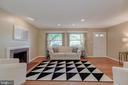 Living Room - 3513 N JEFFERSON ST, ARLINGTON