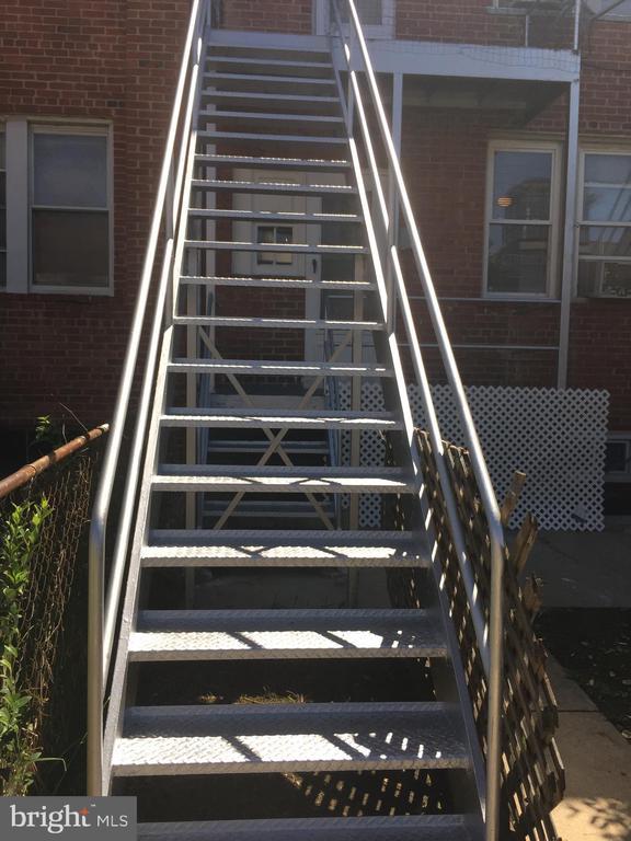 UP back Iron Steps - 4026 7TH ST NE, WASHINGTON