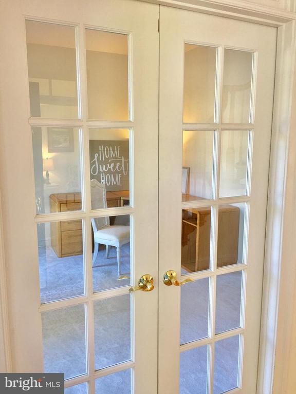 French Doors to Office! - 20377 WATER VALLEY CT, STERLING