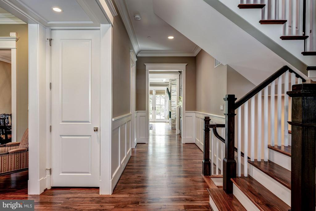 Two Guest Closets, Crown Molding and Wainscoting - 9927 CARTER RD, BETHESDA