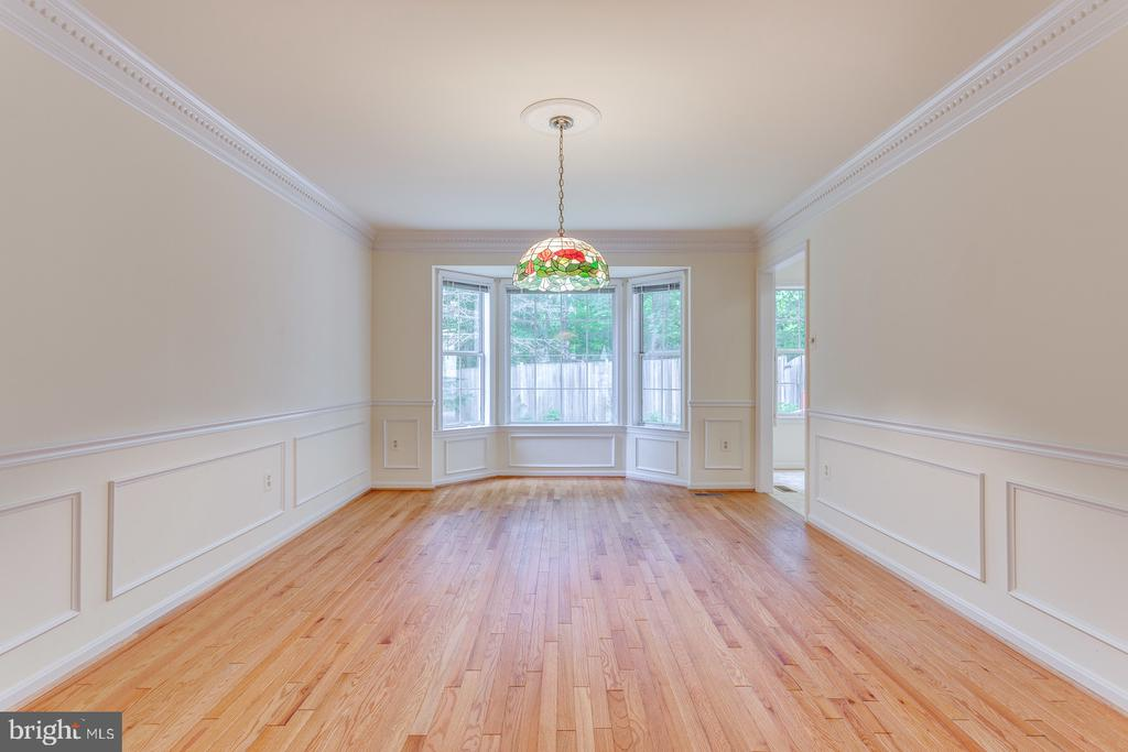 Formal Dining Room with Bay Window - 12036 SUGARLAND VALLEY DR, HERNDON