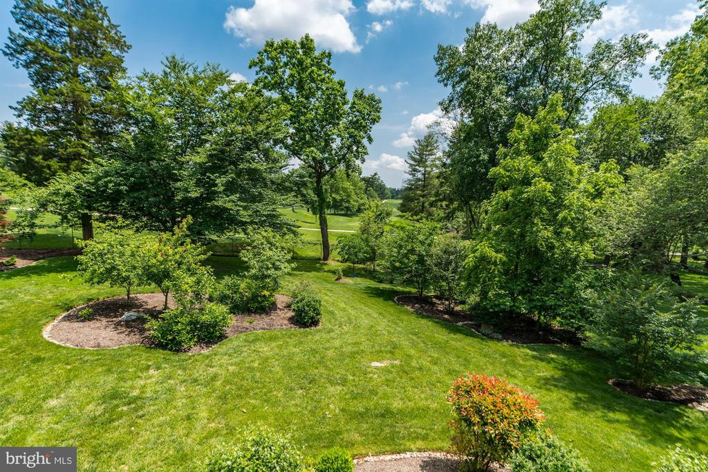 Rear Yard and Golf Course Views - 9927 CARTER RD, BETHESDA