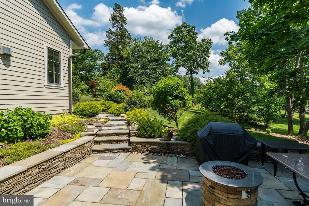 Patio #2 from the Lower Level Walkout - 9927 CARTER RD, BETHESDA