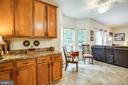 eat in area in kitchen - 7340 JEFFERSON DR, KING GEORGE