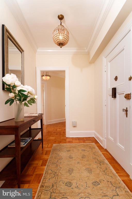 Entrance hall - 4000 CATHEDRAL AVE NW #806B, WASHINGTON
