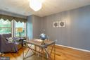 This living room can be used as an office - 98 WATEREDGE LN, FREDERICKSBURG