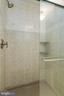 Tile to ceiling in this shower - 98 WATEREDGE LN, FREDERICKSBURG
