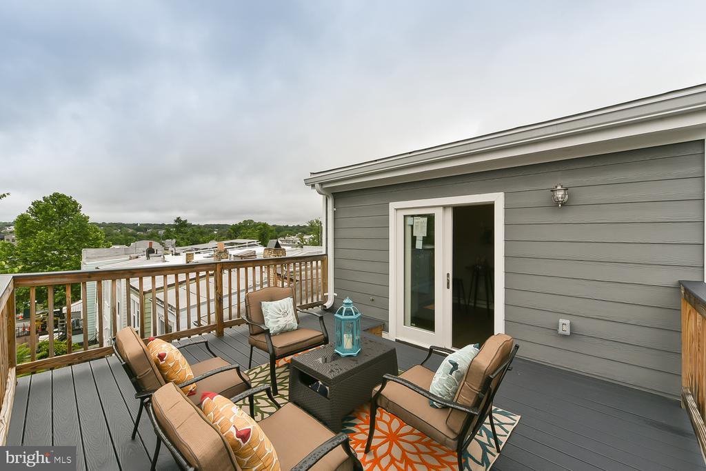 Rooftop Deck - 834 DELAFIELD PL NW, WASHINGTON