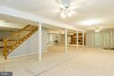 Create you game space with easy access to outside - 98 WATEREDGE LN, FREDERICKSBURG
