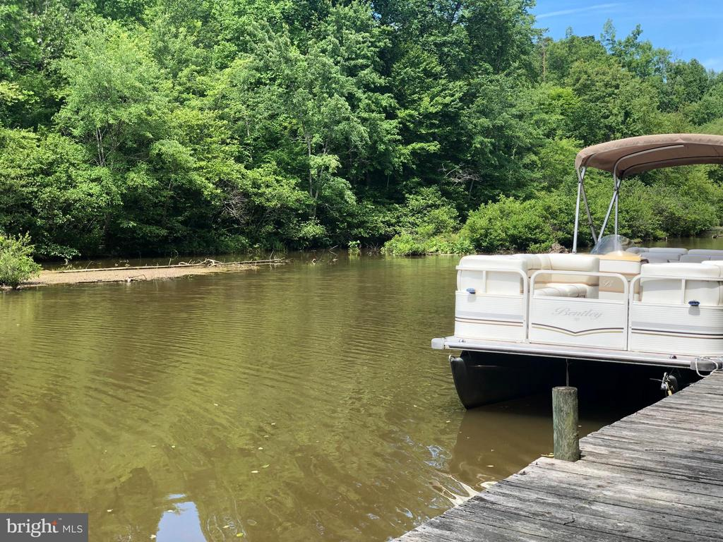 Picturesque view from dock! - 15001 DOVEY RD, SPOTSYLVANIA
