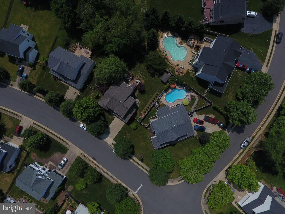 AERIAL VIEW - 700 WOODEN BRIDGE DR, PURCELLVILLE