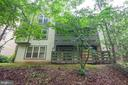 Rear Building Exposure - Unit Is Whole First Level - 11701-B KARBON HILL CT #502B, RESTON