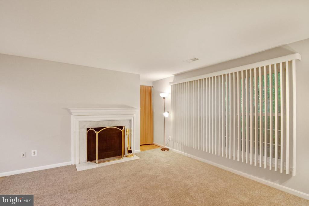 Looking Onto The Living Rm Upon Entrance To Unit - 11701-B KARBON HILL CT #502B, RESTON