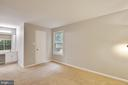 View From Rear of Master Bedroom Showing Walk-In - 11701-B KARBON HILL CT #502B, RESTON