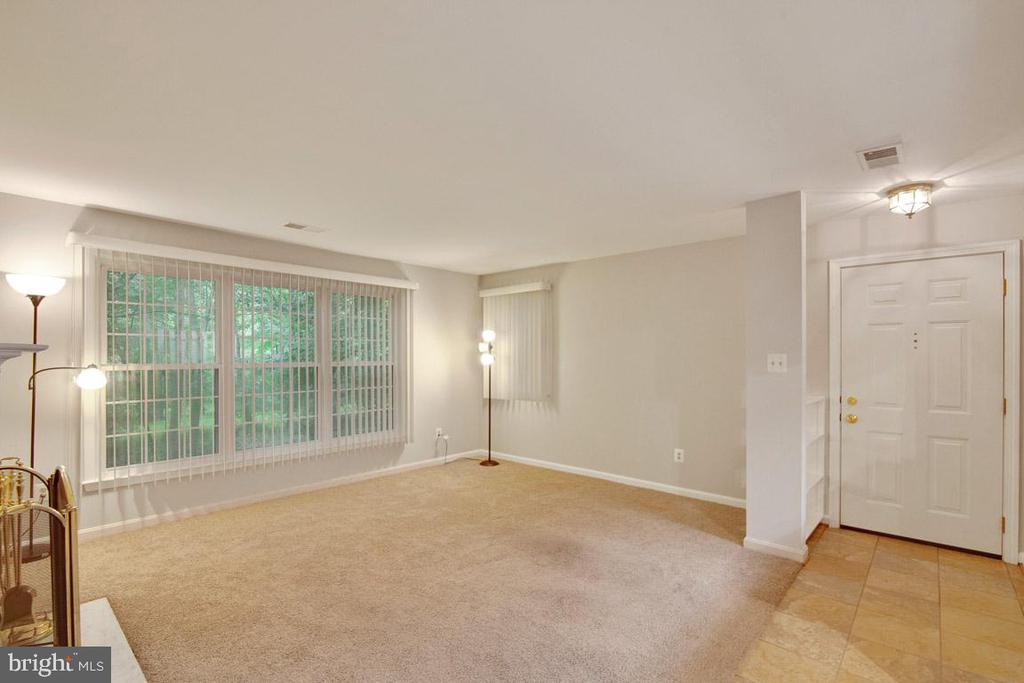 View From Dining Rm Into Living Rm And Foyer - 11701-B KARBON HILL CT #502B, RESTON