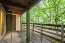 Patio For Private Enjoyment Of Surrounding Nature - 11701-B KARBON HILL CT #502B, RESTON