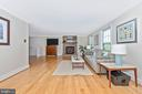 Hardwood throughout main level - 5741 MOUNTVILLE RD, ADAMSTOWN